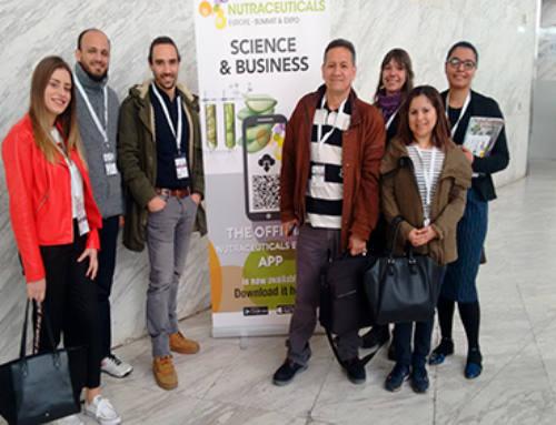 Nuestros mejores alumnos de Auxiliar de Farmacia asisten al «Nutraceuticals Europe – Summit & Expo»