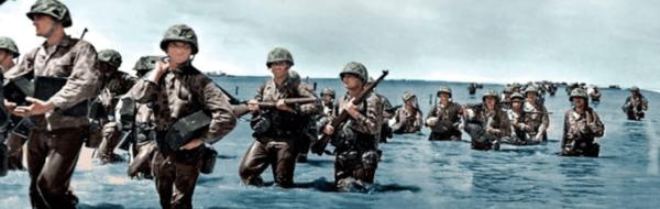 un ejemplo de esta inteligencia artificia es el documental de segunda guerra mundial en color