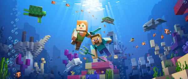 Minecraft como ejemplo de inteligencia artificia en generación procedural